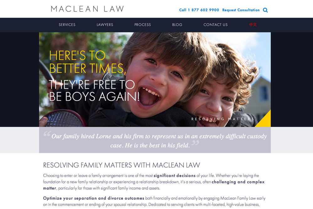 MacLean Law, Client, Ampitup