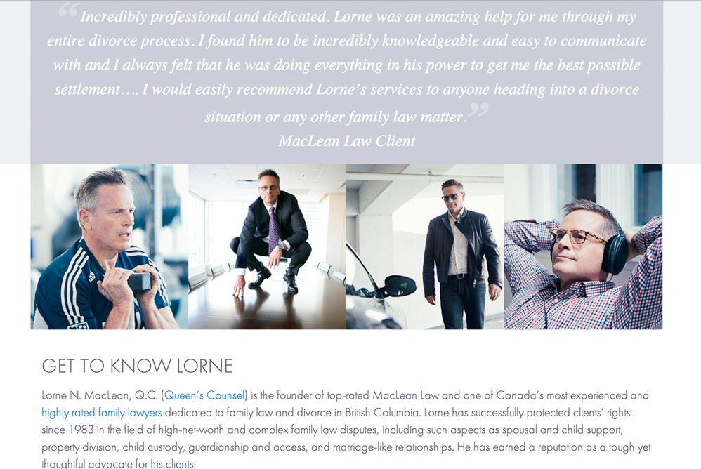 Lorne MacLean, Client, Ampitup